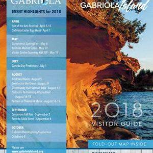 2019 Gabriola Visitor Guide Advertising Information