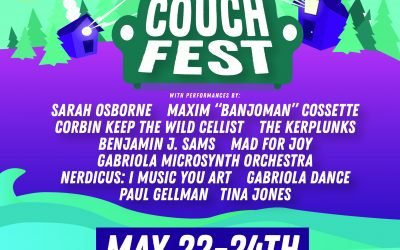 Couch Fest! Tickets NOW ON SALE!